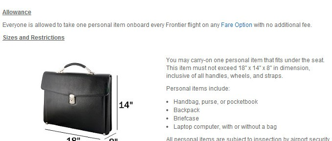 Frontier Carry On Fee 679x288