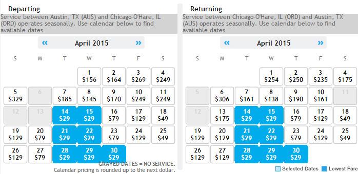Flight availability: 10:12 AM on 2/17