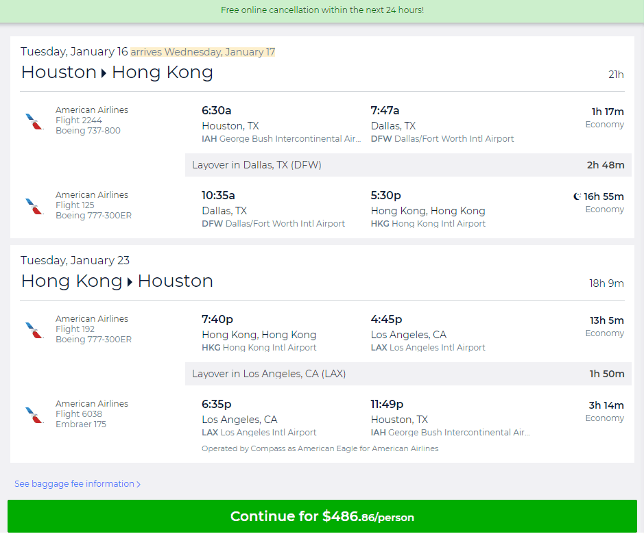 Hong Kong Flight And Hotel Deals