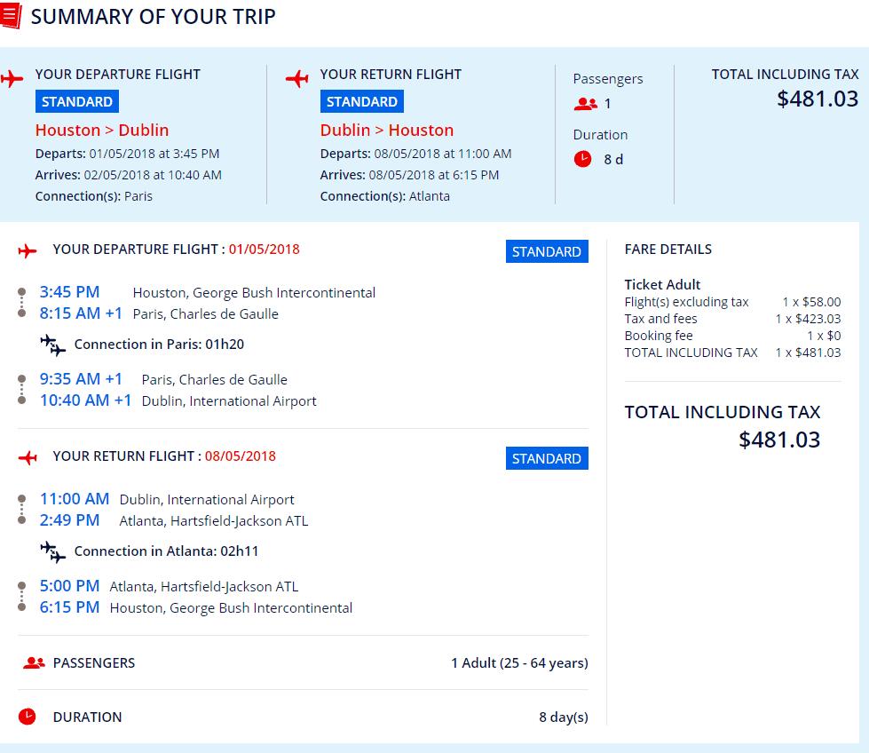 Cheap Flights Houston To Dublin Prague Copenhagen