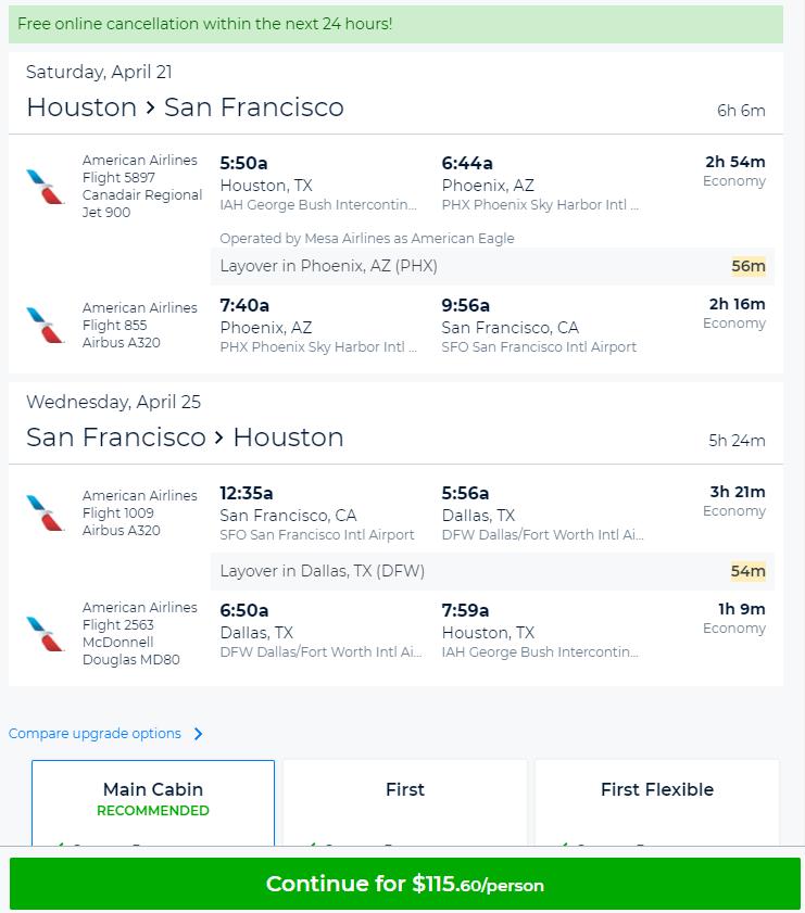San Francisco Deals Flight And Hotel